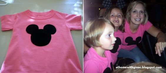 At Home with Gina C.: DIY Mickey Mouse T-Shirts