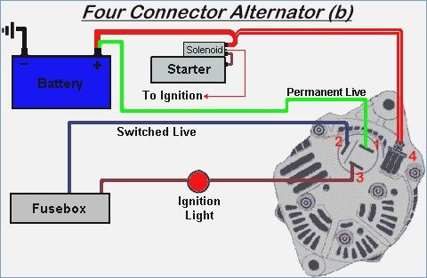 marine tachometer diesel alternator wiring instruction