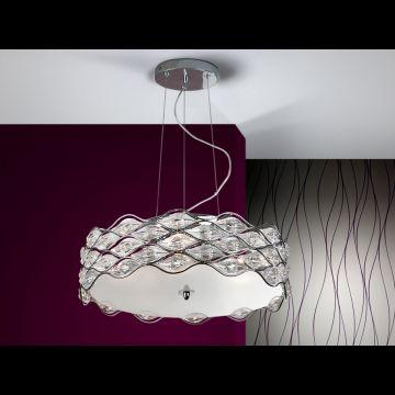 Lámpara Colgante Grande Sibila #Ambar #Muebles #Deco #Interiorismo #Iluminacion   http://www.ambar-muebles.com/lampara-colgante-grande-sibila.html