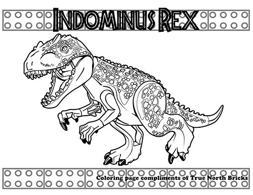 Jurassic World Dr Wu Giveaway True North Bricks Lego Coloring Pages Dinosaur Coloring Pages Jurassic World