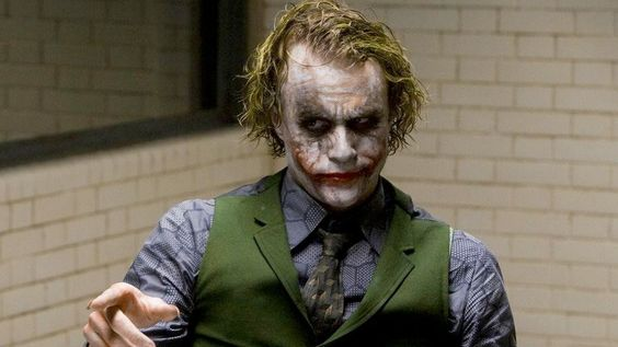 Heath Ledger's Joker in The Dark Knight