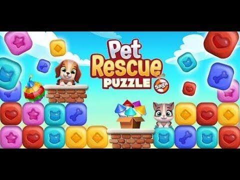 New Pet Rescue Puzzle Saga Walkthrough Levels 1 15 In 2020 Animal Rescue Pets Rescue