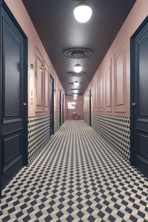 дизайн міні-готелю