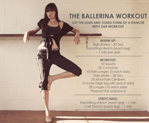 ballerina workout gotta get some boom legs.