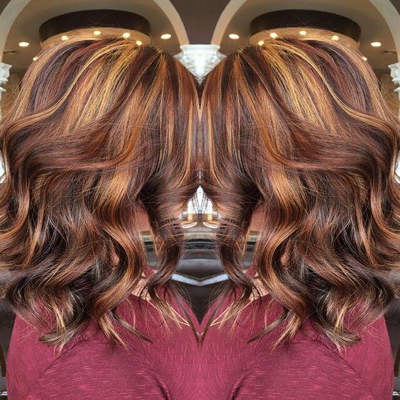 Violet Brown Hair Color Dark Brown Hairs Of Golden Violet
