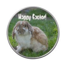 Happy Easter! Bunny Candy Tin