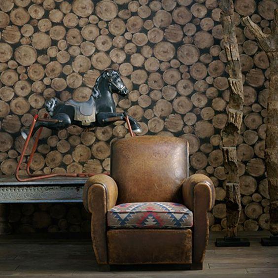 Andrew Martin Lumberjack Wallpaper via Occa Home