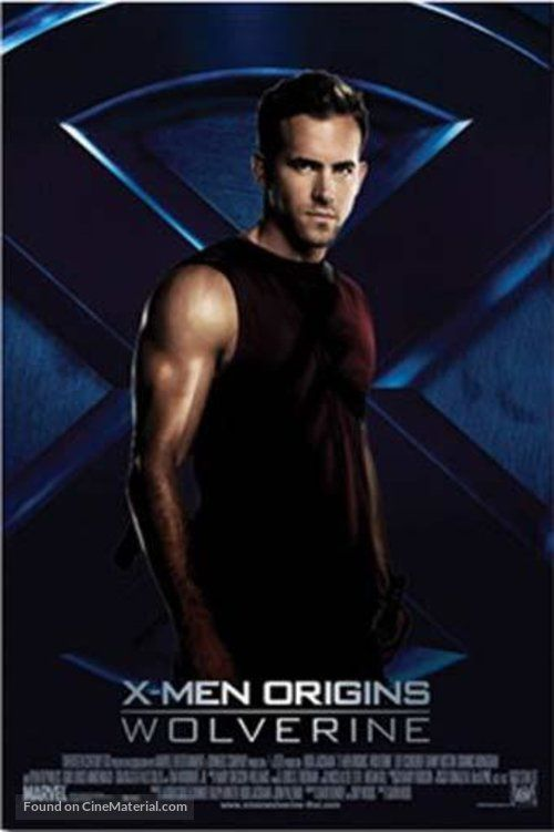 X Men Origins Wolverine Movie Poster Wolverine Movie X Men Wolverine