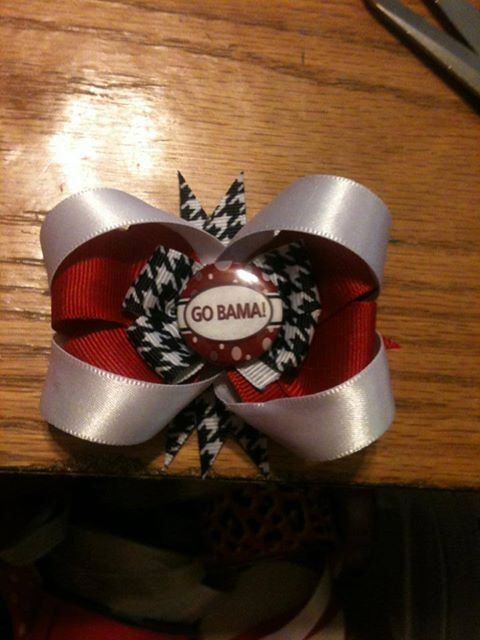 Alabama bow - $6 - etsy