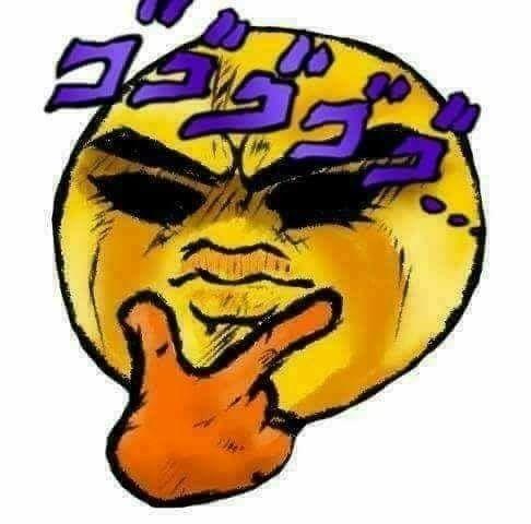 Jojo Thinking Face Jojo Anime Cute Memes Jojo Memes
