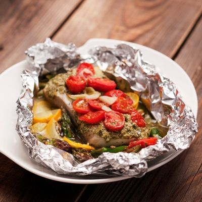 Cooking in foil packets fish on the grill or in the oven for Fish in foil in oven