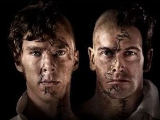 Benedict Cumberbatch & Jonny Lee Miller as the Creature & 'Dr. Victor Frankenstein'