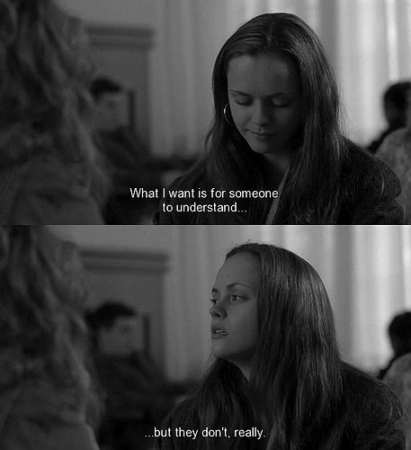 Prozac Nation. Most don't. To be fair many try. Depression.