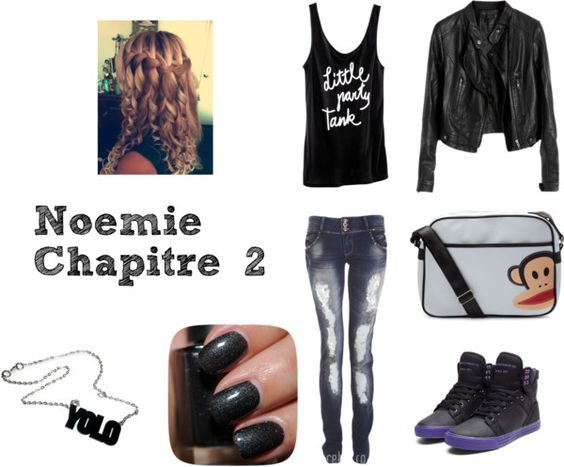 """Noémie Chapitre 2"" by misscamille-972 ❤ liked on Polyvore"