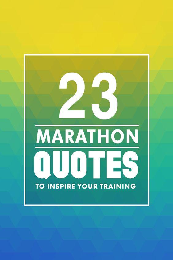 Running marathons quotes