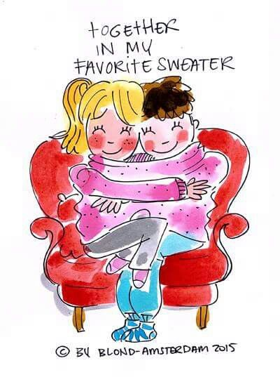 Together in my favorite sweater - blond amsterdam