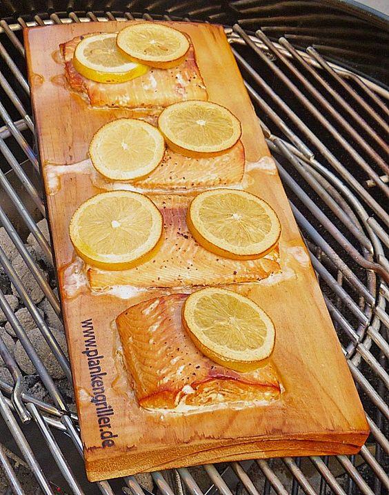 Plank-grilled Lachs (Rezept mit Bild) von liwanze | Chefkoch.de
