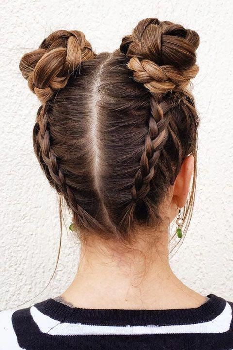 The Best Prom Updos For Those Who Can Barely Do A French Braid Hair Styles Bun Hairstyles Cool Hairstyles