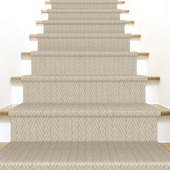 Only Natural Z6877 00121 Carpet Flooring With Images Carpet | Textured Carpet On Stairs | Floral | Wide Stripe | Short Cut Pile | Stylish | Brown