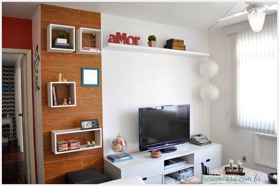 Painel para tv - faixa lateral
