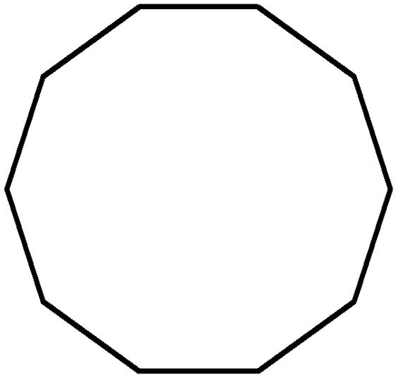 nonagon shape   DESIGN   Pattern   Pinterest   Shape and Search