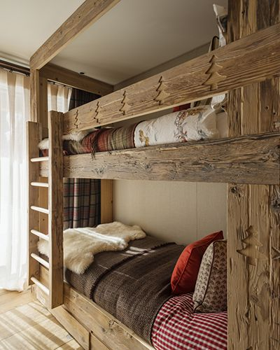 Mountain Cabins Cabin And Bunk Bed On Pinterest