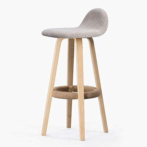 Sbbd Seat Chair Bar Chair Removable And Washable Seat Covers Barchair Wooden Chair Frame High Stool Bar Hous Iron Bar Stools Modern Style Bar Stools Bar Stools