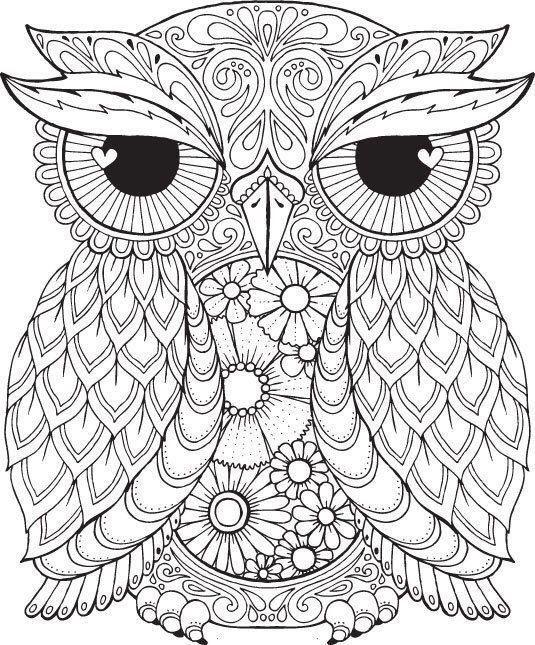 Mandala Owl Coloring Pages Пин от поРьзоваÑ'ÐµÐ Ñ Natalya  Shumihina на Ð´Ð¾Ñ Ðº… Owl Coloring Pages, Mandala Coloring Pages,  Animal Coloring Pages