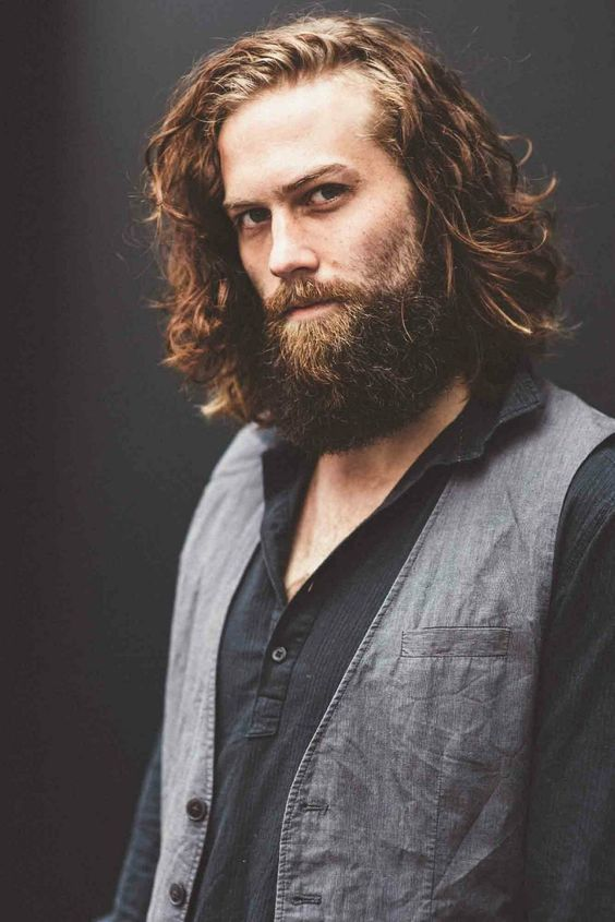 love the coloration in this beard full thick beards man men mens style - Coloration Hnn