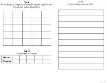 Histograms Interactive Notebook by To the Square Inch- Kate Bing Coners   Teachers Pay Teachers