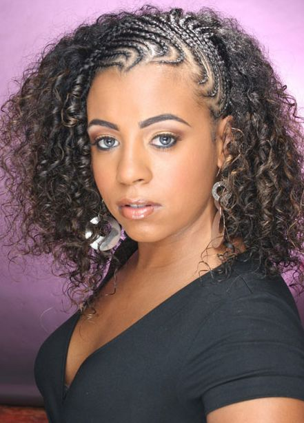 Incredible Natural Hair Braid Styles Natural Hair Braids And Curly Wedding Hairstyles For Women Draintrainus