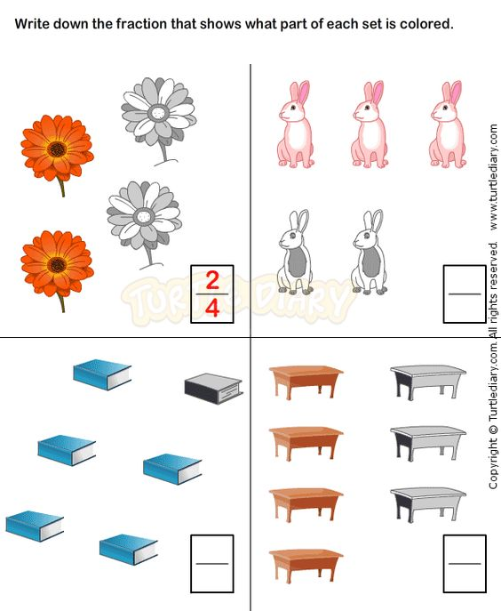 fractions worksheet 6 math worksheets grade 1 worksheets fractions worksheets pinterest. Black Bedroom Furniture Sets. Home Design Ideas