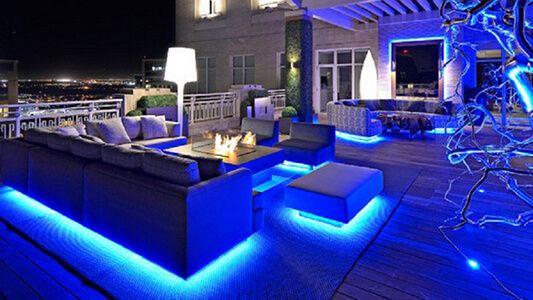 Attractive Garden LED Strip Lights | Tuin | Pinterest | Led Strip, Lights And Garden  Furniture