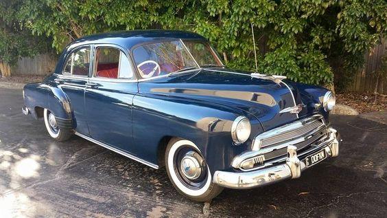 1951 chevrolet 4 door sedan australian assembled rhd for 1949 chevy 4 door sedan