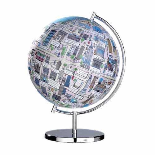 NYC globe