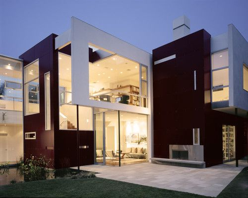 Modern Mansion Exterior modern c house - modern house design with simple black and white