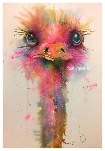 Sarah Weyman WATERCOLOR: