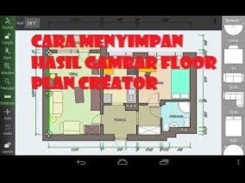 Cara Menyimpan Hasil Gambar Floor Plant Creator