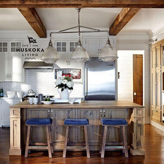 Cottage Kitchens Muskoka Interiors Home Interiors Stool Top Bar Stool