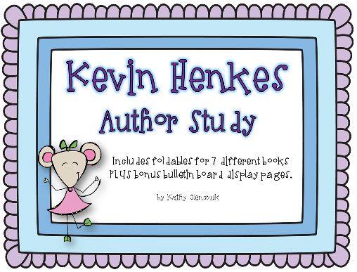 KevinHenkes.com for author study | school ideas | Pinterest