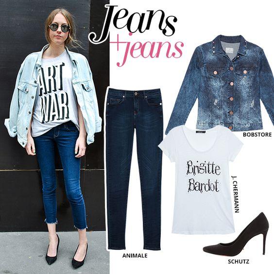 tshirt + jeans