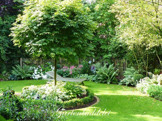 Gartenbuddelei Kleiner Gartenrundgang pflanzen Pinterest - kleiner steingarten bilder