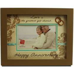 Happy Anniversary Shadowbox Picture Frame