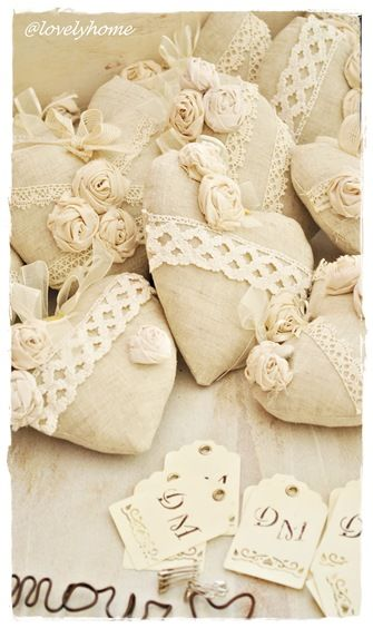 Shabby Chic Hearts: