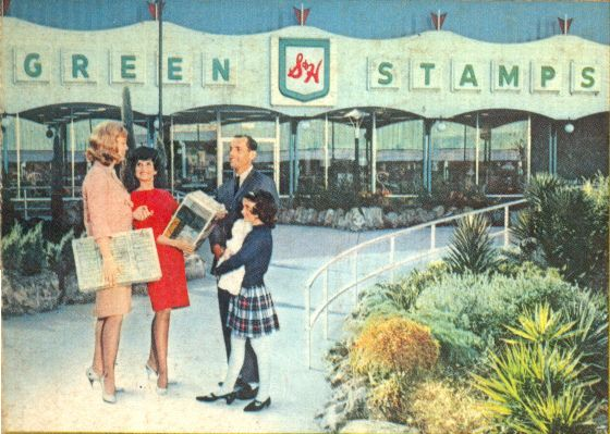 Image result for vintage photo of s&h green stamp redemption centers