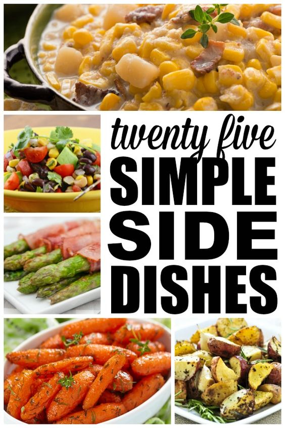 Fish dishes easy side dishes and meat on pinterest for What side dishes go with fish