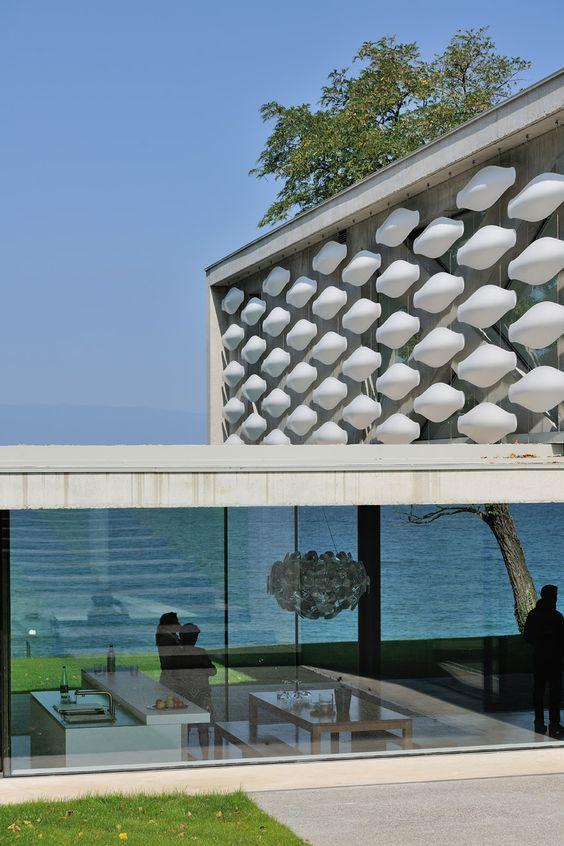 pierre minassian architecte / maison contemporaine sur le lac ...