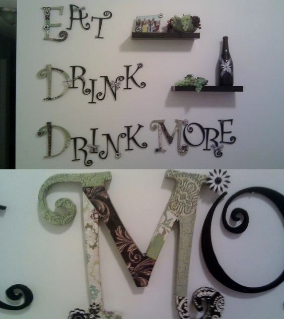 For Our Dining Room Kitchen Wine Theme Hahahah This