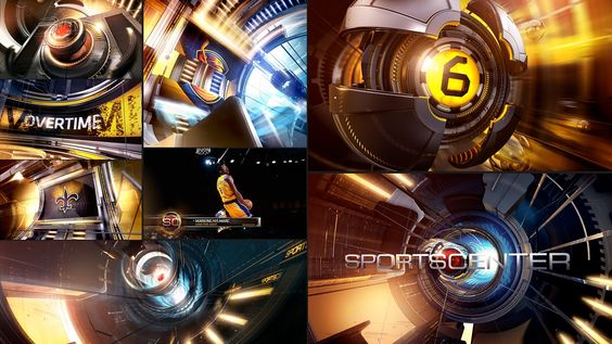 SportsCenter 2009 Re-Launch on Behance