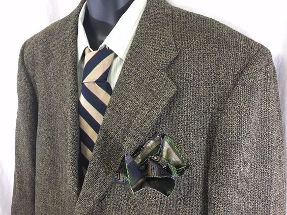 Monsieur By Givenchy Sport Coat Mens Size 50 Long Wool 3 Button ...